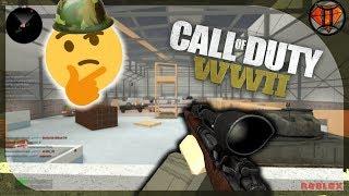Bootleg Call of Duty:WWII! 😂 | Roblox WW2|