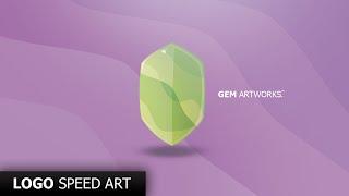 Illustrator- Logo Design Process Speed art