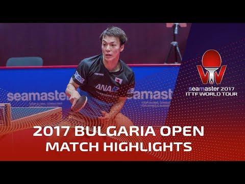 2017 Bulgaria Open Highlights: Kenji Matsudaira vs Viacheslav Burov (Pre)
