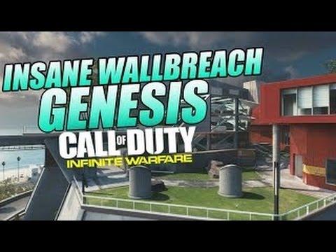 """Call Of Duty Infinite Warfare Glitches"": NEW Insane Genesis Wallbreach & Under Map (IW Glitches)"