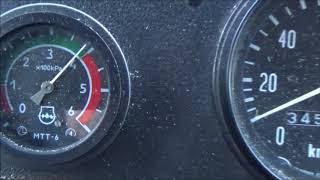 Установил всё-таки датчик аварийного давления масла на ГАЗ 3307 с Д240