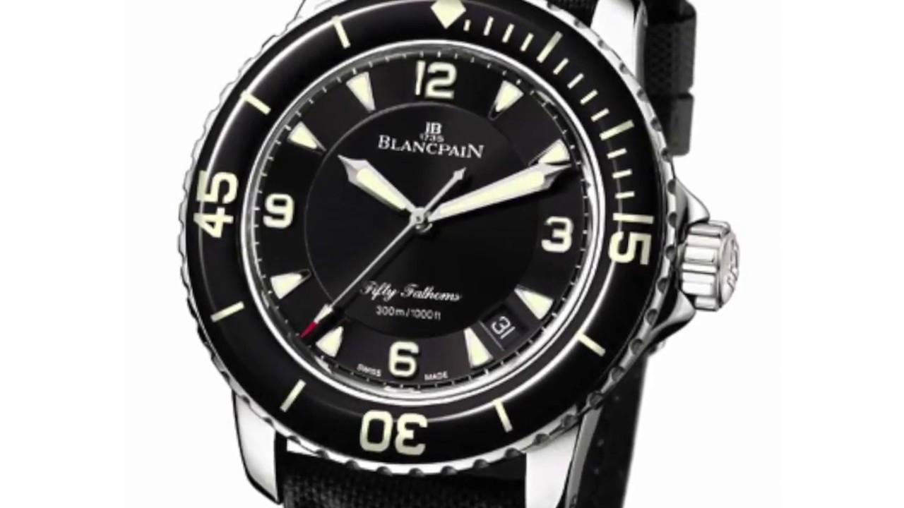 Blancpain 50 Fathoms History Rolex Submariner Copy Blancpain
