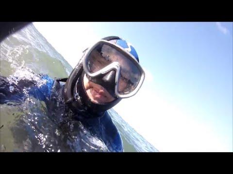 2014 08 18 Vidéo PNJ AEE SD23 Plongée en apnée Plage la Mare ST CAST LE GUILDO