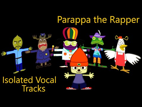 Parappa the Rapper - All Songs (Clean/Isolated Vocals/Acapella)