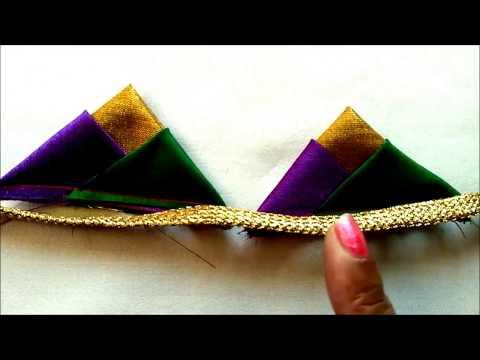 3 triangles design || Fashion Designing tips || For Blouses || Churidar || Frocks || Designer wear