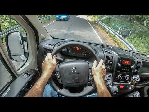 Peugeot Boxer | 4K POV Test Drive #296 Joe Black