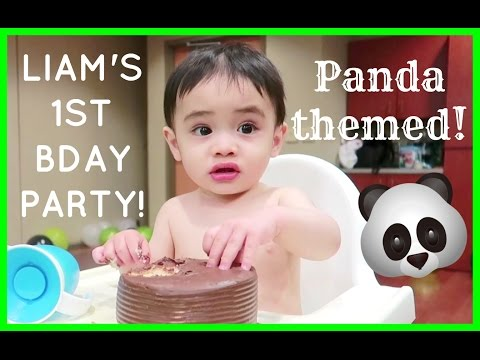 LIAM IS ONE! 1ST BIRTHDAY PARTY!🎉🎈