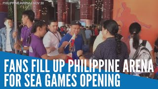 Fans fill up Philippine Arena for SEA Games opening