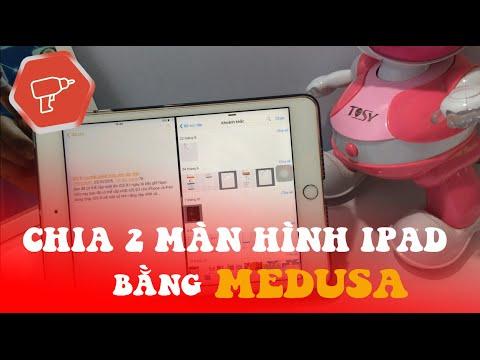 Medusa chia 2 màn hình iPad thường như iPad Pro
