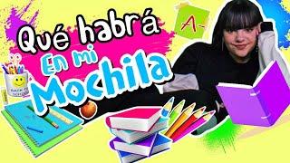 ¿Qué habrá en mi mochila? - Back to school on line - Ivanna Pérez