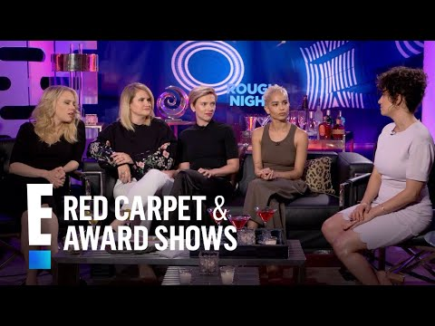 """Rough Night"" Stars Play ""Name That Celeb Stripper"" 