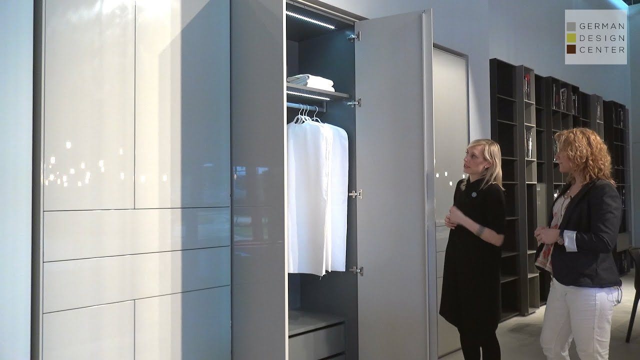 Schrank design  Piure at iSaloni: Line Schrank Custom Freestanding Closet - YouTube