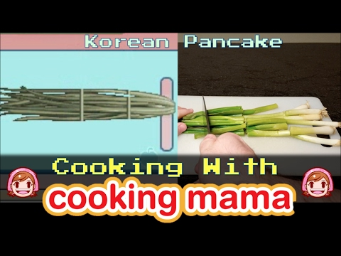 Pajeon (Korean Pancake) | Cooking with Cooking Mama!