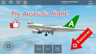 ROBLOX | fly Australia flight