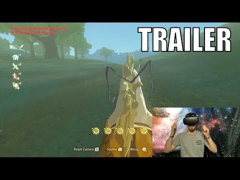 This is What Breath of the Wild VR Should Be Like..