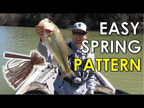 Easy Spring Bass Fishing Pattern To Catch All Day Long