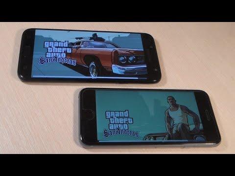Samsung Galaxy J7 2017 Vs IPhone 6S