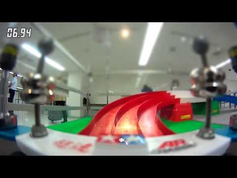 【ミニ四駆オンボードカメラ映像】タミヤモデギャラ2015【タイム表示テスト版】