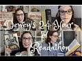 I Read 700 pages in 19 Hours! | Dewey's Reading Vlog