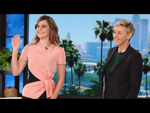 EMMA WATSON ON THE ELLEN SHOW