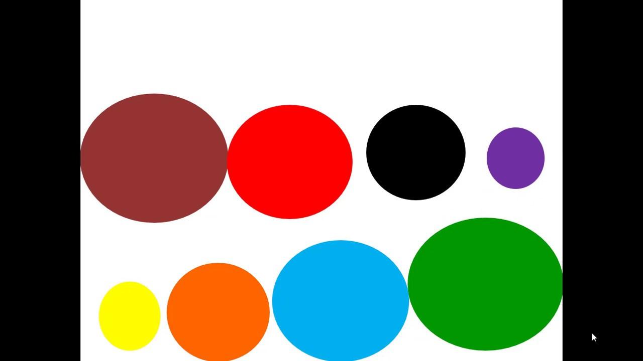 تعليم الأشكال والألوان للأطفال Youtube