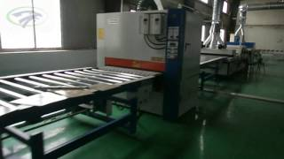 MDF uv coating machine