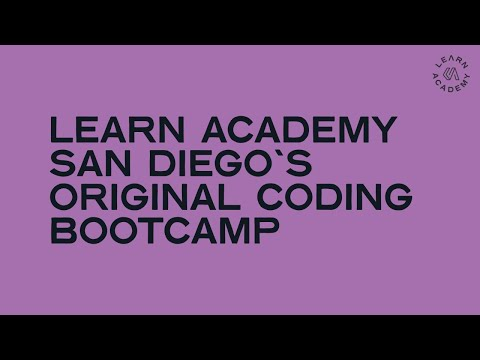LEARN Academy San Diego's Original Coding Bootcamp