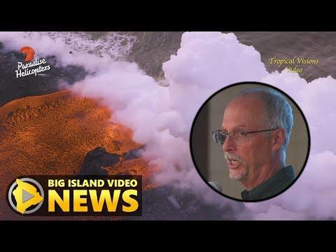 USGS Update On Hawaii Eruption - Pahoa Meeting 1/3 (July 24, 2018)