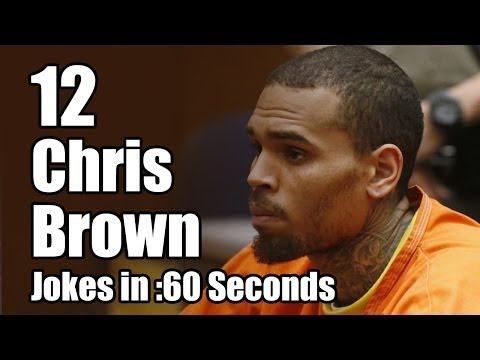 12 Chris Brown Jail Jokes in 60 Seconds