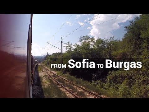 From Sofia to Burgas by Train