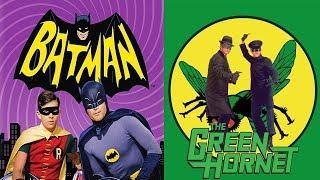 Bruce Lee en la serie Batman como Kato con El Avispón Verde (audio latino) HD