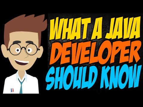 What a Java Developer Should Know