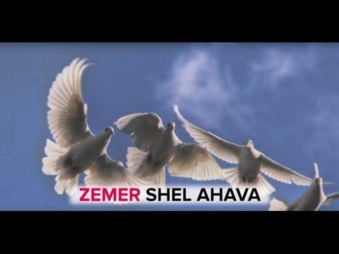 Erev Shel Shoshanim Lyrics Video (Hebrew love song)
