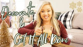 DECORATE FOR CHRISTMAS | GET IT ALL DONE | JESSICA O'DONOHUE