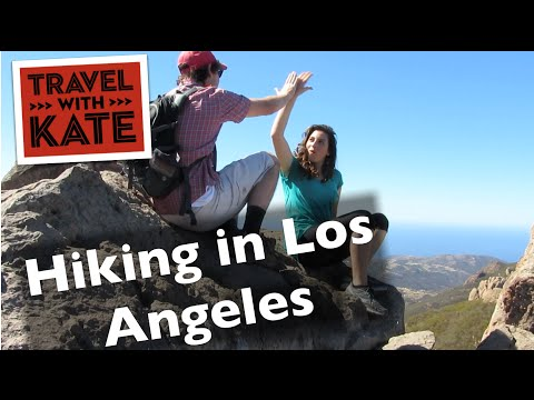 Hiking in Los Angeles on Travel with Kate