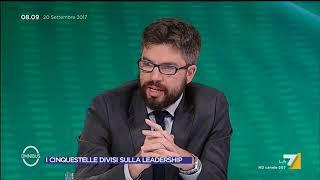 Omnibus - I Cinquestelle divisi sulla leadership (Puntata 20/09/2017)