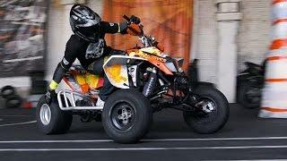 Quad ATV Stunts