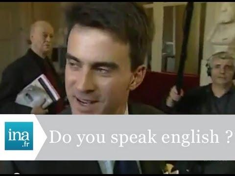 Manuel Valls parle-t-il anglais ? - Archive vidéo INA