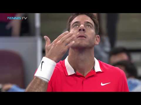 Highlights: Del Potro, Basilashvili To Meet In China Open Final 2018