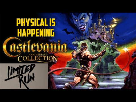 Castlevania anniversary collection physical is happening. limited run games |