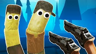 ZOMBIE HOT DOGS in VR! - Hot Dogs Horseshoes and Hand Grenades Gameplay -  HTC Vive VR
