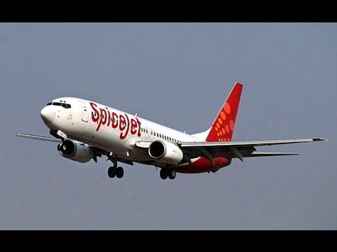Delhi TO Dubai! Take off! (Boeing 737-800 , (Spicejet)