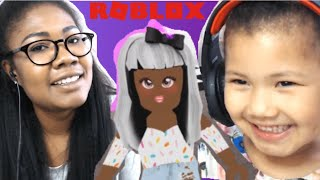 3 YEAR OLD plays #roblox | YOUNGEST ROBLOX PLAYER !?| Lemonade Adopt me !!