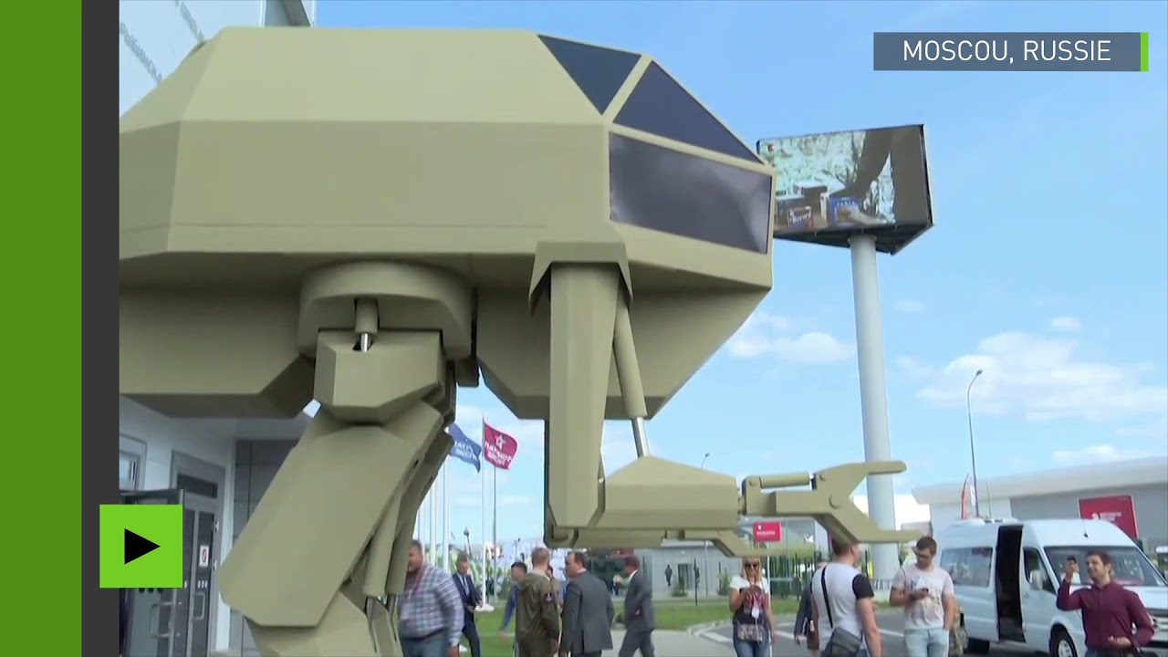 La société Kalachnikov présente Igorek, son nouveau robot ...