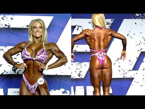 ⭐️ IFBB Figure Pro Brittany Rice in 4K