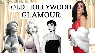 How To Be Glamorous And Feminine Like The Old Hollywood Icons ?