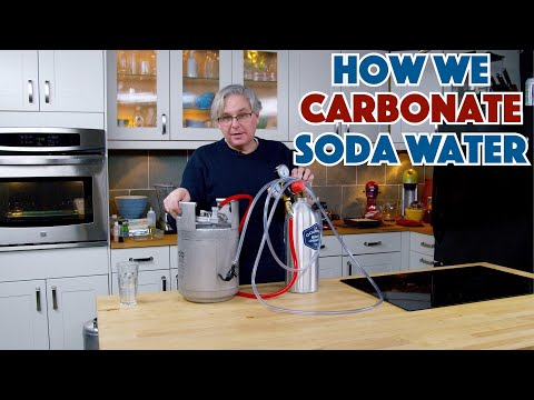 How We Carbonate Our Soda Water