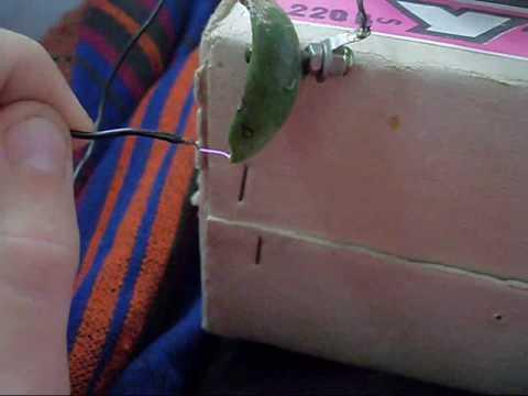 строчник на одном транзисторе
