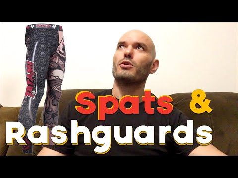 Spats & Rashguards! Spandex: the most fantastic functional fitness fabric for fighting