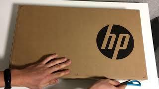 распаковка ноутбука HP Pavillion 15-cx0402ng с Computeruniverse